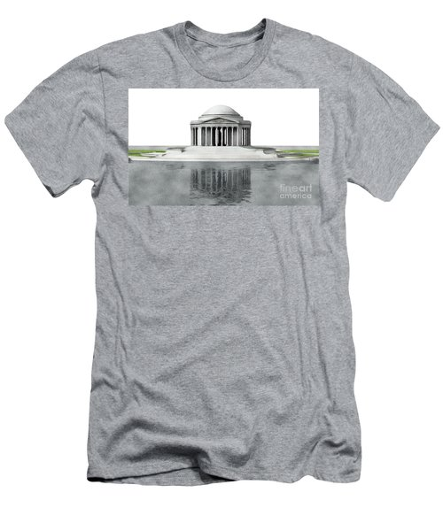 Thomas Jefferson Memorial, Washington Men's T-Shirt (Athletic Fit)