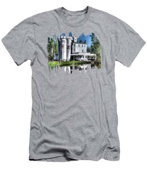 Flowering Mill Reflections Men's T-Shirt (Athletic Fit)