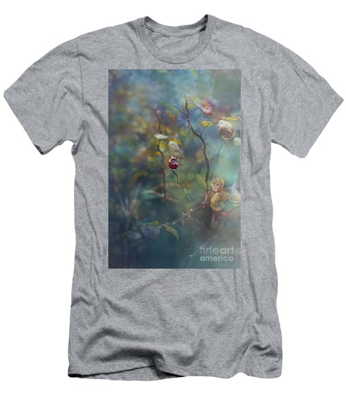 Thorns And Roses Men's T-Shirt (Slim Fit) by Agnieszka Mlicka