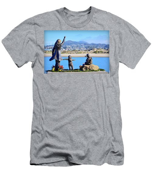 Men's T-Shirt (Athletic Fit) featuring the photograph Those Who Wait by AJ Schibig