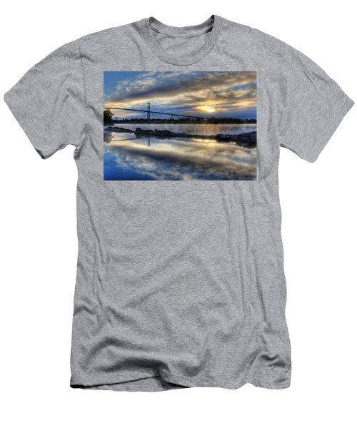 Thousand Islands Bridge Men's T-Shirt (Athletic Fit)