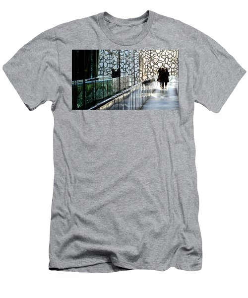 Men's T-Shirt (Athletic Fit) featuring the photograph Three Ladies by August Timmermans