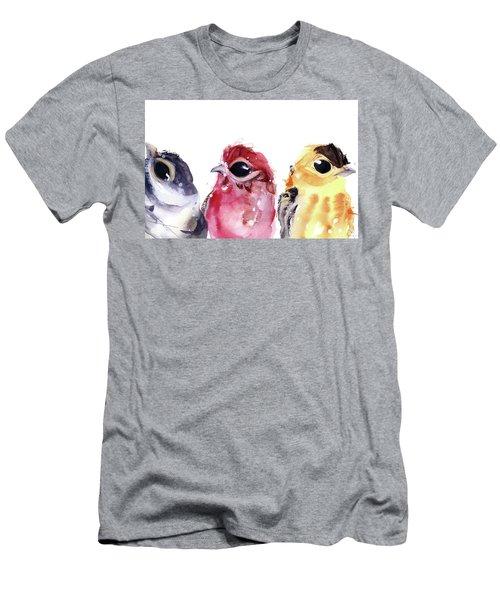Three Little Birds Men's T-Shirt (Athletic Fit)