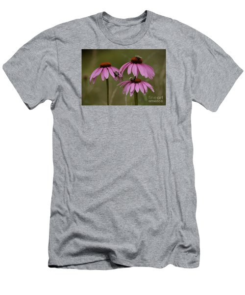 Men's T-Shirt (Slim Fit) featuring the photograph Three by Randy Bodkins