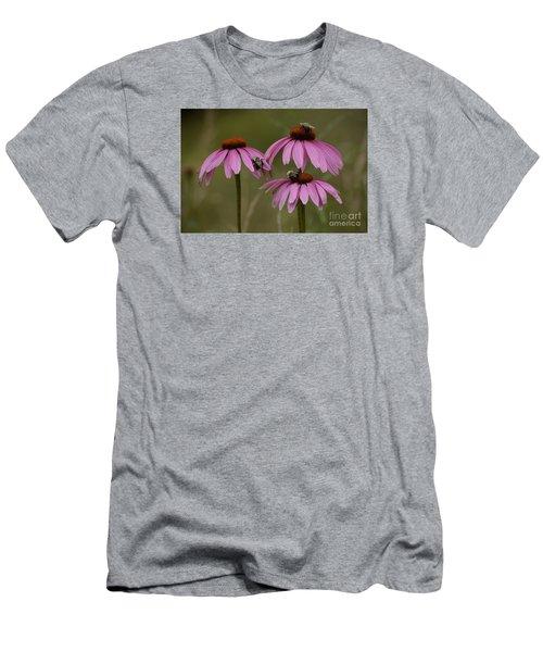 Three Men's T-Shirt (Slim Fit) by Randy Bodkins