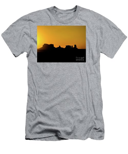 Three Sisters Backlight Men's T-Shirt (Athletic Fit)