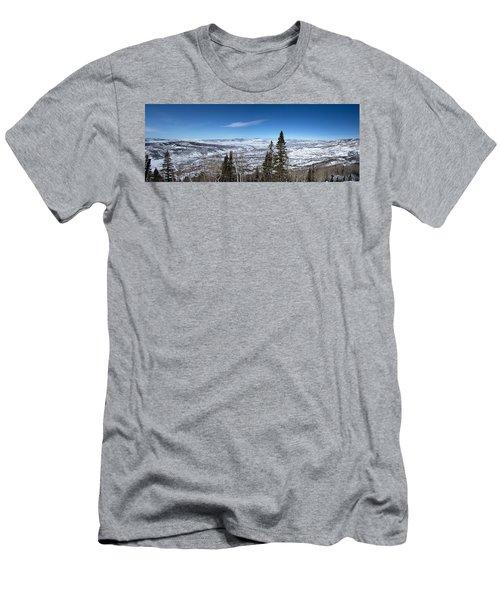 Through The Pines Men's T-Shirt (Slim Fit) by Sean Allen