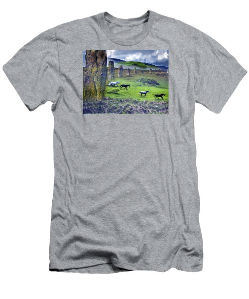 Through The Standing Stones Men's T-Shirt (Athletic Fit)