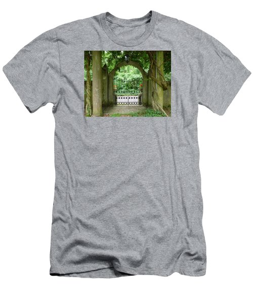 Through The Tuscan Gate Men's T-Shirt (Athletic Fit)