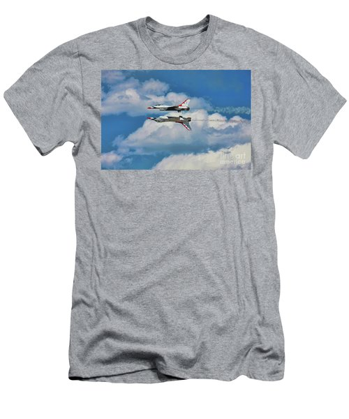 Thunderbirds Inverted Men's T-Shirt (Athletic Fit)