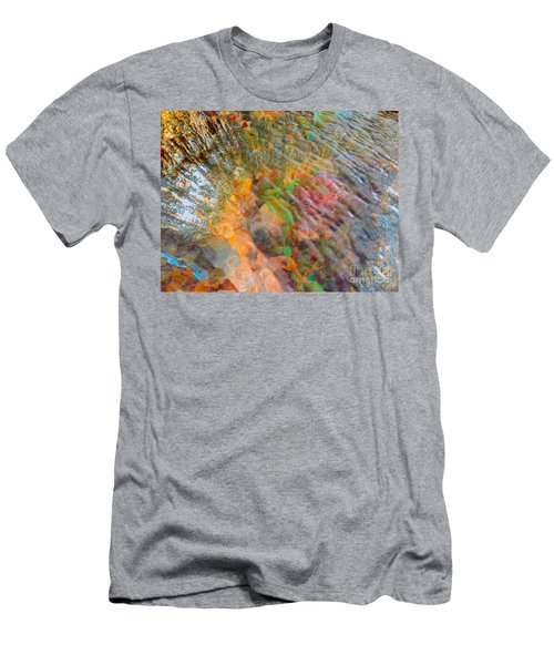 Tidal Pool And Coral Men's T-Shirt (Athletic Fit)