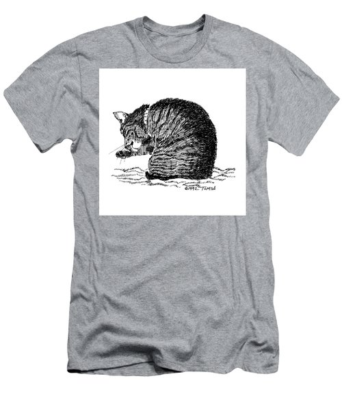 Tidying Up - Art By Bill Tomsa Men's T-Shirt (Athletic Fit)