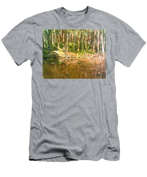 Tiger Lake Men's T-Shirt (Athletic Fit)