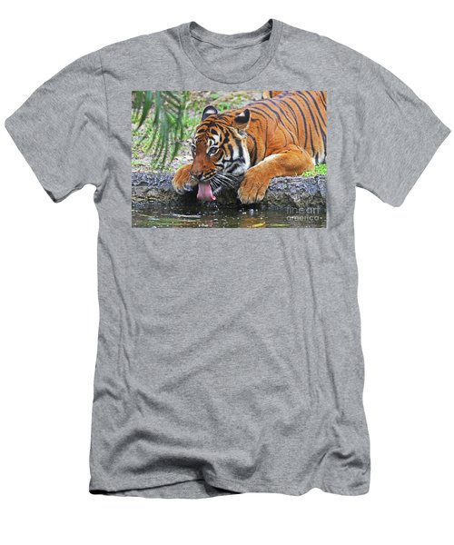 Thirsty Tiger Men's T-Shirt (Athletic Fit)