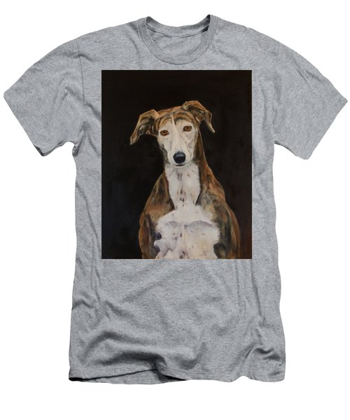 Tilly The Lurcher Men's T-Shirt (Athletic Fit)