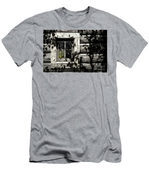 Men's T-Shirt (Slim Fit) featuring the photograph Timber Hand-crafted by Brad Allen Fine Art
