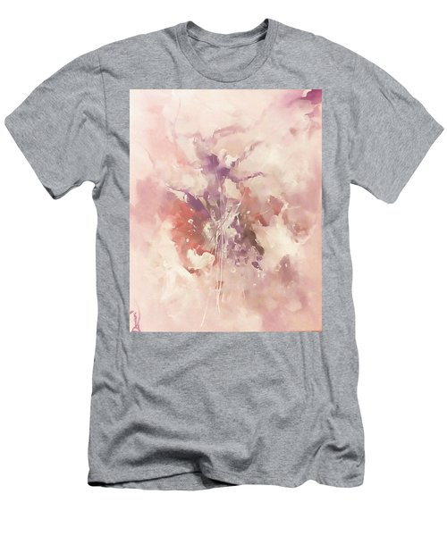 Men's T-Shirt (Slim Fit) featuring the painting Time And Again by Raymond Doward