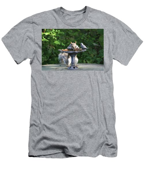 Men's T-Shirt (Athletic Fit) featuring the photograph Time For A Drink by Trina Ansel