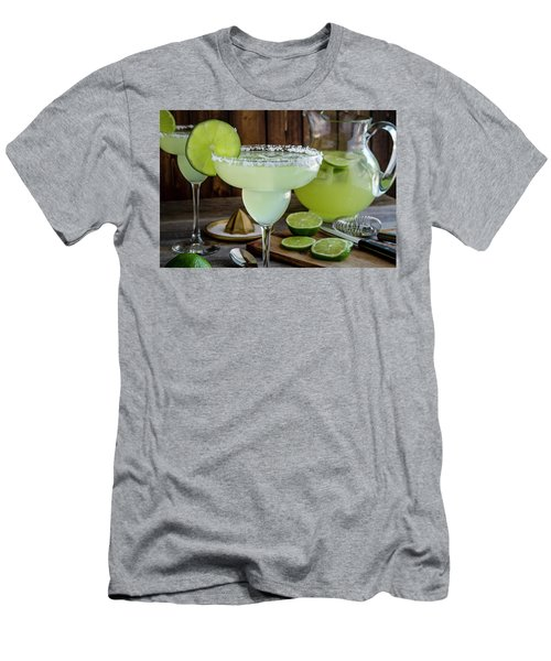 Men's T-Shirt (Slim Fit) featuring the photograph Time For Margaritas by Teri Virbickis