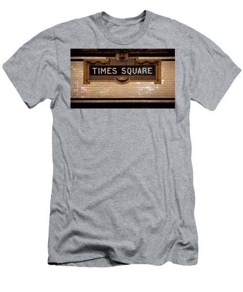 Time Square Men's T-Shirt (Athletic Fit)