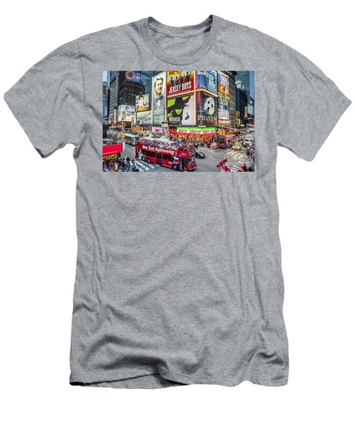 Times Square II Men's T-Shirt (Athletic Fit)