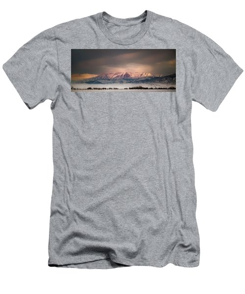 Timpanogos Rising Men's T-Shirt (Athletic Fit)