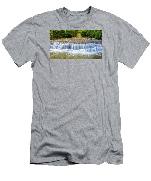 Men's T-Shirt (Slim Fit) featuring the photograph Tinton Falls After The Rain by Gary Slawsky