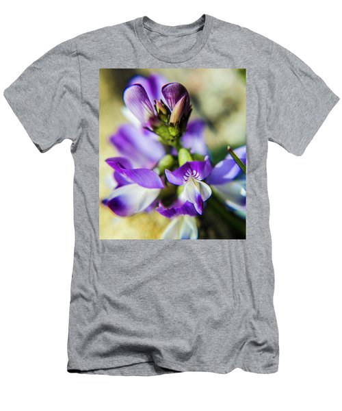 Men's T-Shirt (Athletic Fit) featuring the photograph Tiny Flower by Tyson Kinnison
