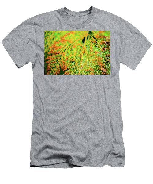 Tiny Flowers Blooming  Men's T-Shirt (Athletic Fit)