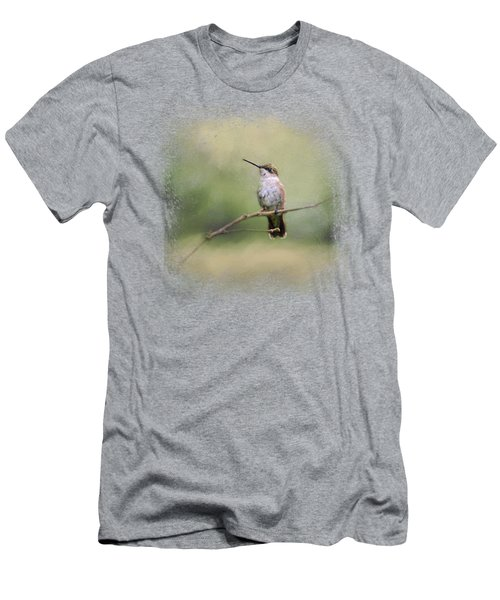 Tiny Visitor Men's T-Shirt (Athletic Fit)