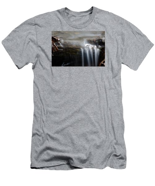 Tiny Waterfall Men's T-Shirt (Athletic Fit)