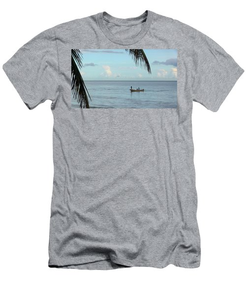 Tips Of Palms Men's T-Shirt (Athletic Fit)