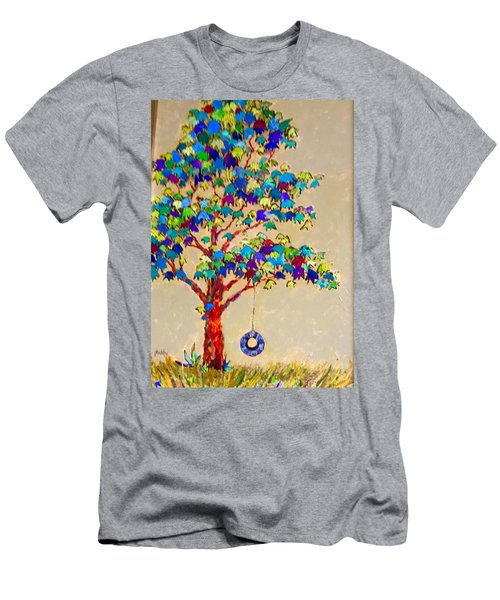 Tired Tree Men's T-Shirt (Athletic Fit)