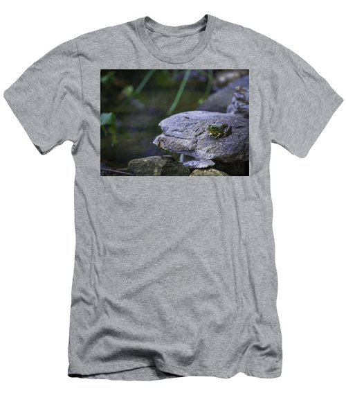 Toading It Up Men's T-Shirt (Slim Fit) by Jason Moynihan