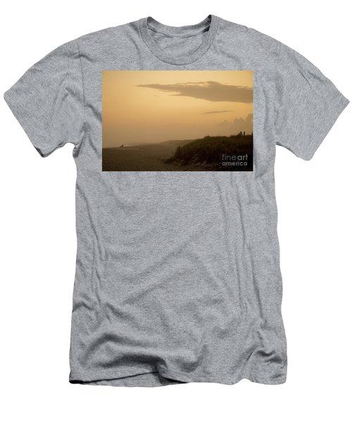 Tobay Beach Long Island Men's T-Shirt (Athletic Fit)
