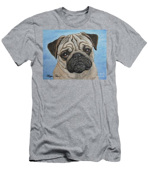 Toby The Pug Men's T-Shirt (Athletic Fit)