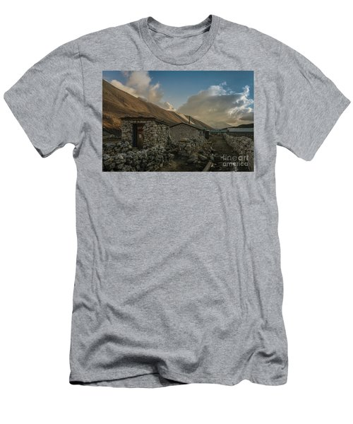 Men's T-Shirt (Slim Fit) featuring the photograph Toilet by Mike Reid
