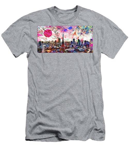 Tokyo Metropolis Men's T-Shirt (Athletic Fit)