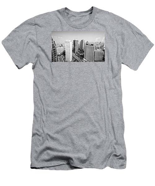 Tokyo Skyline Men's T-Shirt (Athletic Fit)