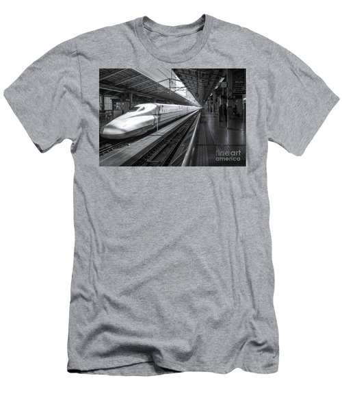 Tokyo To Kyoto, Bullet Train, Japan Men's T-Shirt (Athletic Fit)