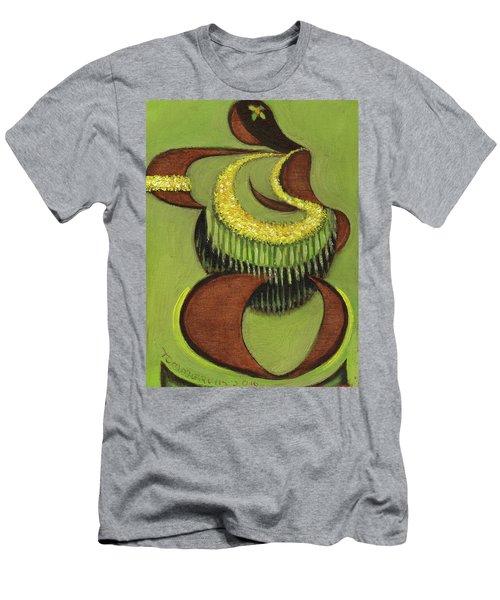 Tommervik Hula Dancer Hawaii Art Print Men's T-Shirt (Athletic Fit)