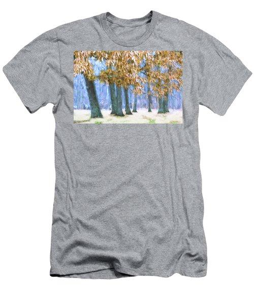 Tones Of Winter Men's T-Shirt (Athletic Fit)