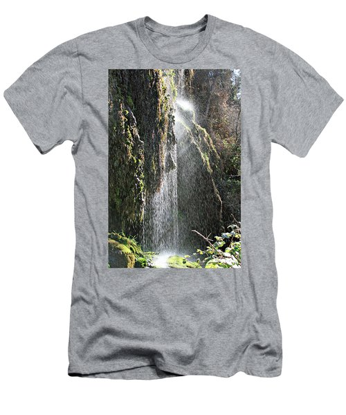 Tonto Waterfall Splash Men's T-Shirt (Athletic Fit)