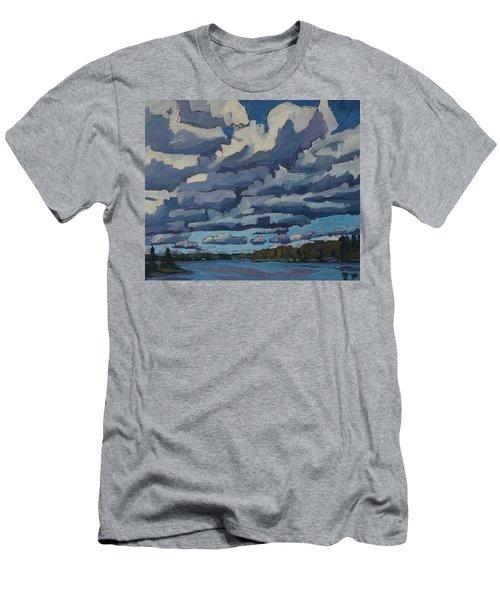 Top Lit Cumulus Men's T-Shirt (Athletic Fit)