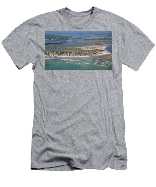 Topsail Island Migratory Model Men's T-Shirt (Athletic Fit)