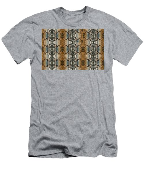 Tornado Pattern Men's T-Shirt (Athletic Fit)