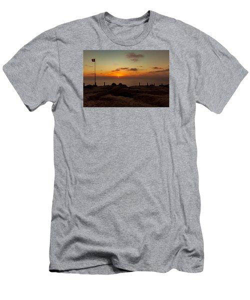 Torrey Pine Glider Port Sunset Men's T-Shirt (Athletic Fit)