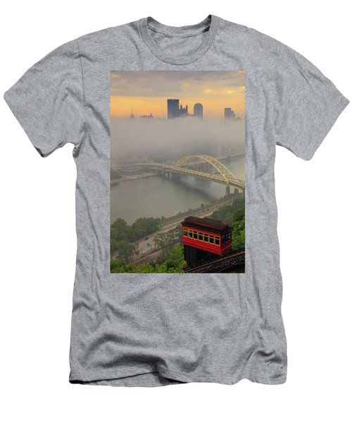 Touch Of Fog  Men's T-Shirt (Athletic Fit)