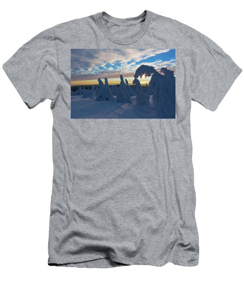 Touched From The Winter Sun Men's T-Shirt (Slim Fit) by Andreas Levi