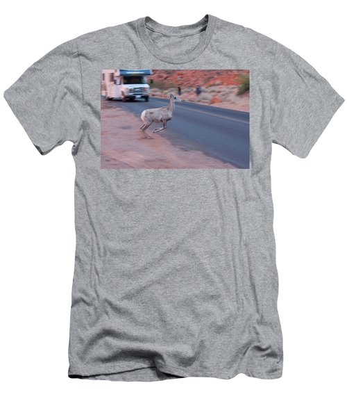 Tourists Intrusion In Nature Men's T-Shirt (Athletic Fit)
